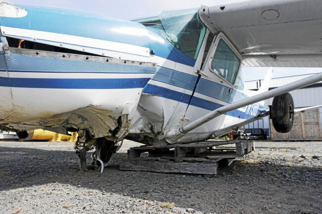 Updated: Pilot suffers 'traumatic' injuries in crash at Pittsfield airport