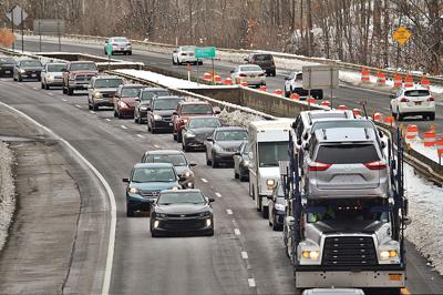 Slick roads may greet holiday travelers in Berkshires, parts of N.Y. and Vermont