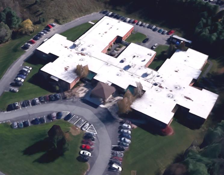 Springside nursing home aerial