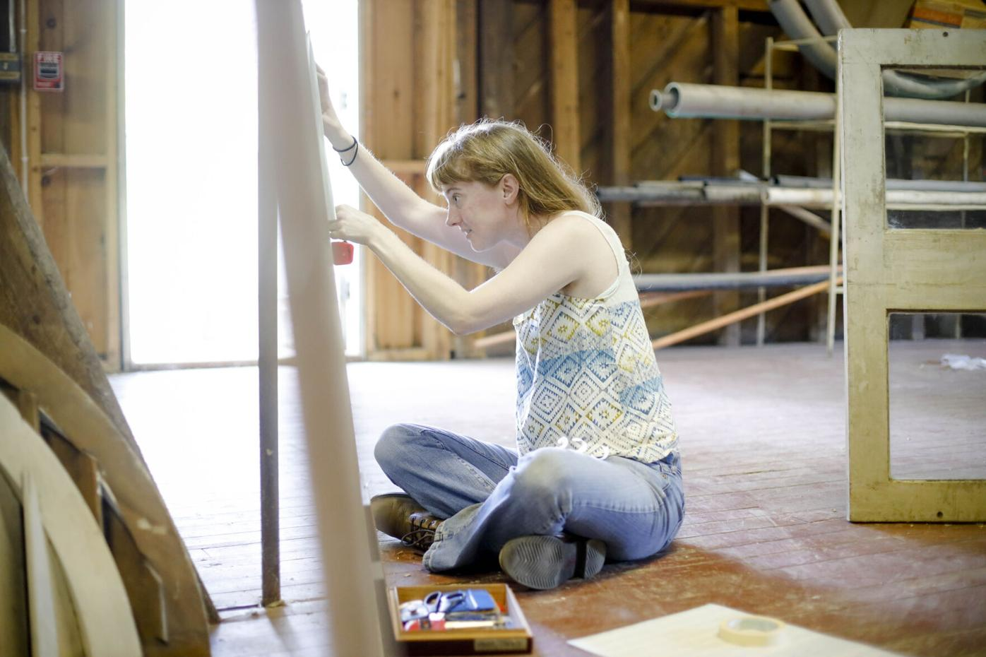 Molly Rideout, Artist in Residence at The Mount
