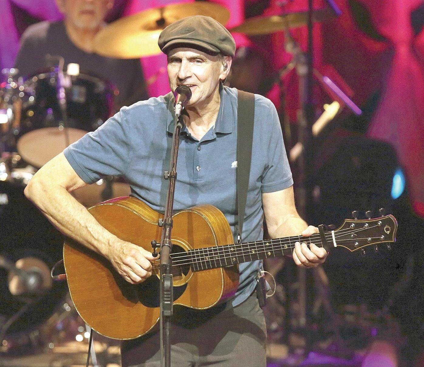 A busy James Taylor reflects on a long and winding road