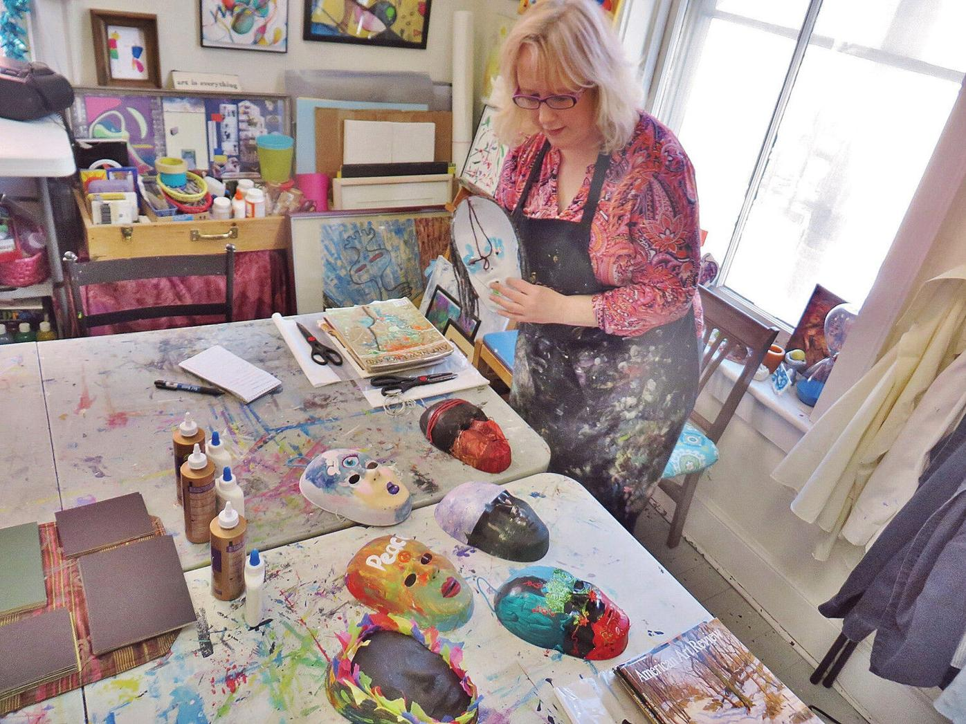 Berkshires art therapist awarded at Statehouse for work in youth suicide prevention