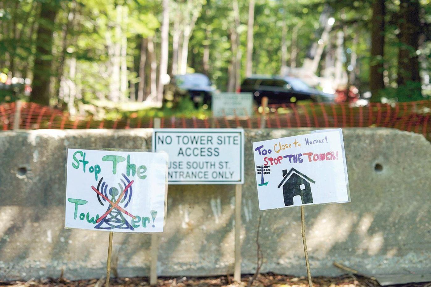 As cell tower rises, neighborhood challenge to Pittsfield project faces new legal test