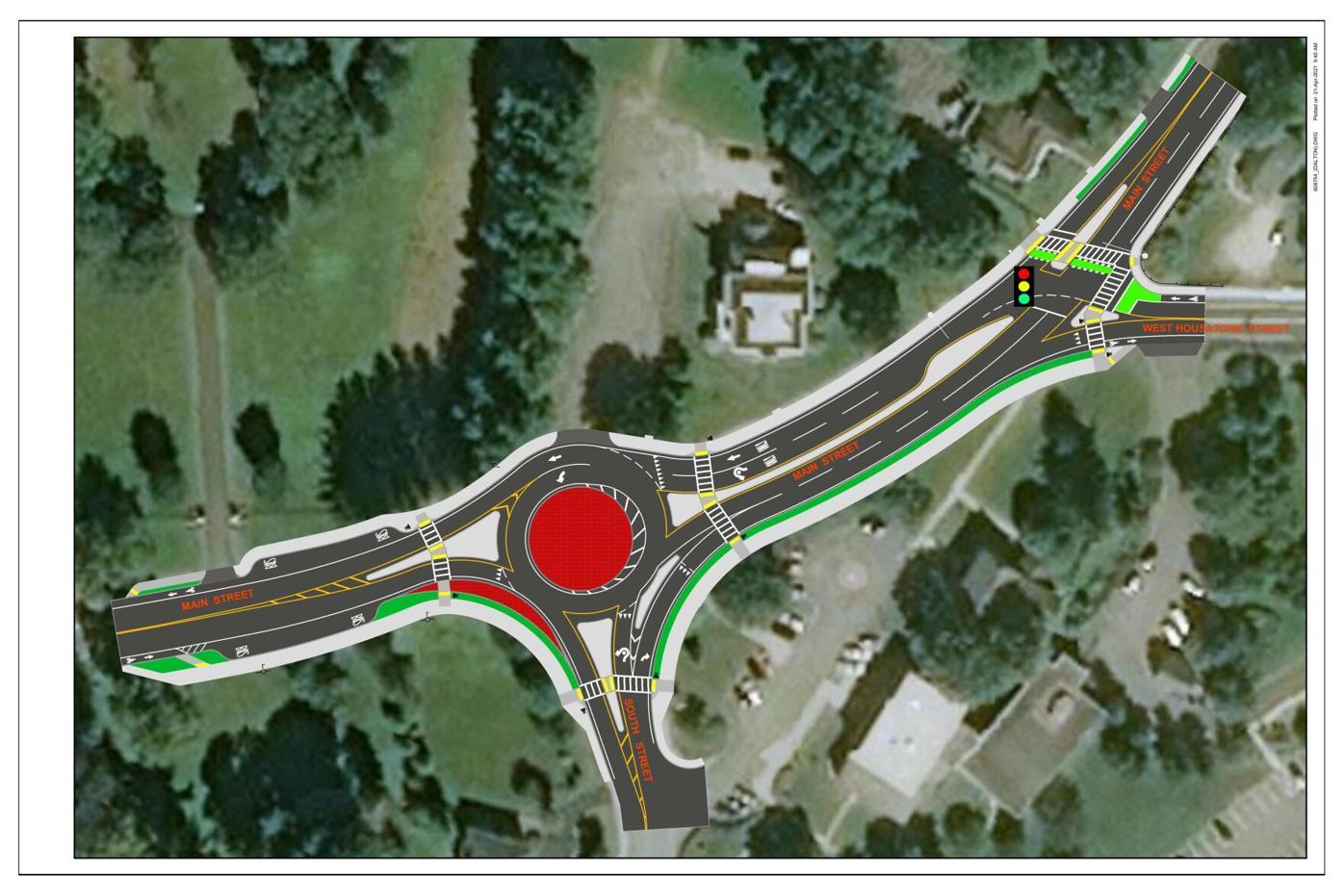 DOT designs for Dalton intersections