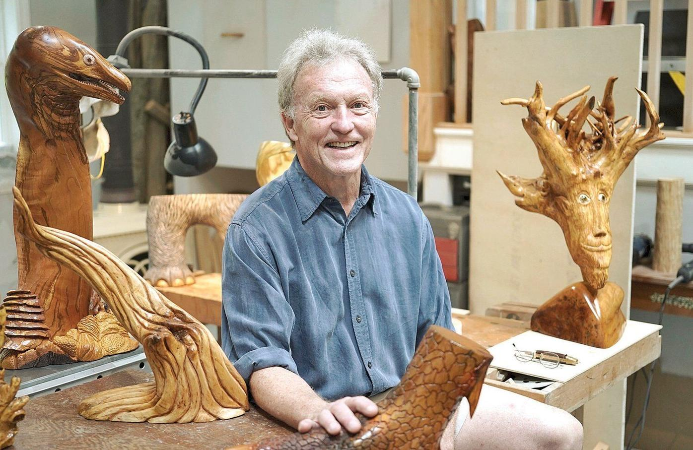 Berkshire Made: From wooden stump to detailed claw