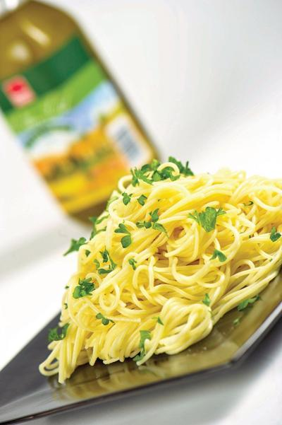 Margaret Button: Linguine with lemon sauce is perfect right now