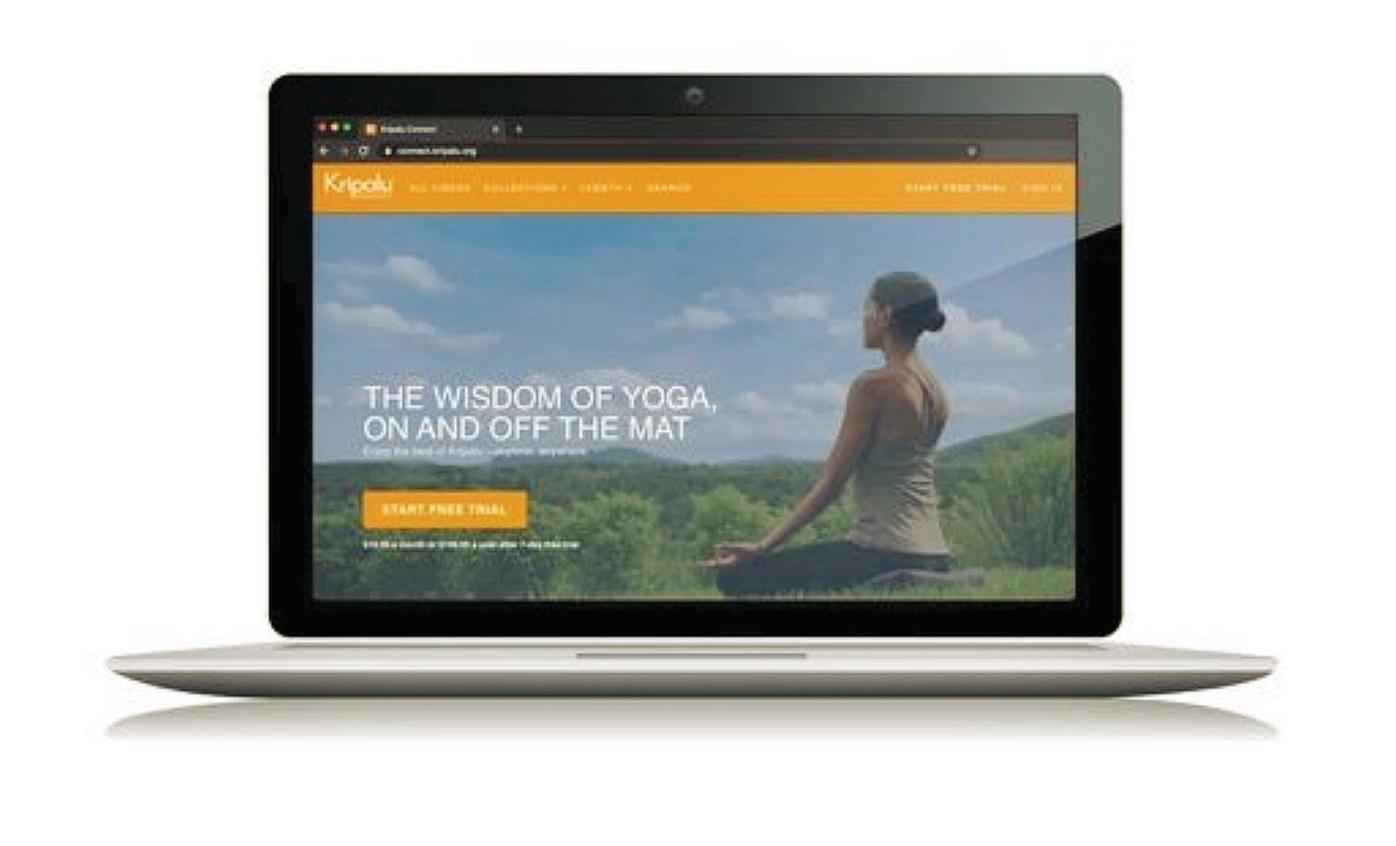 Kripalu comes 'off the hill' and onto your screen