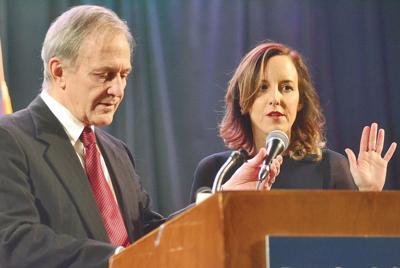 Andrea Harrington sworn in as new Berkshire district attorney