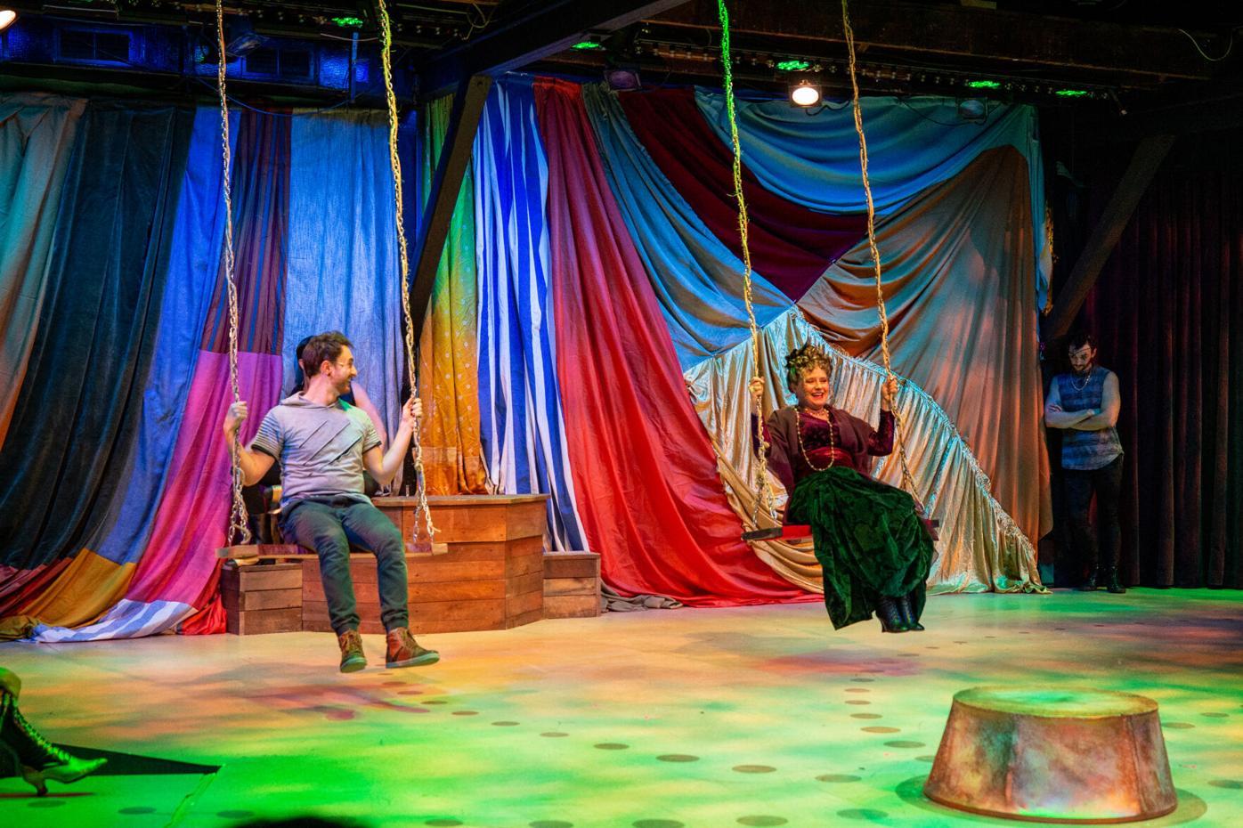 Pippin cast on swings
