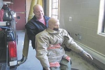 Pittsfield Fire Captain Dan Garner shows off skills in Las Vegas (copy)