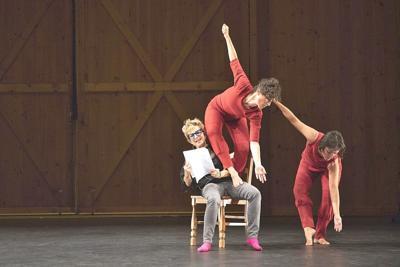 Dance and verbal text speak volumes in Netta Yerushalmy's 'Paramodernities' at Jacob's Pillow