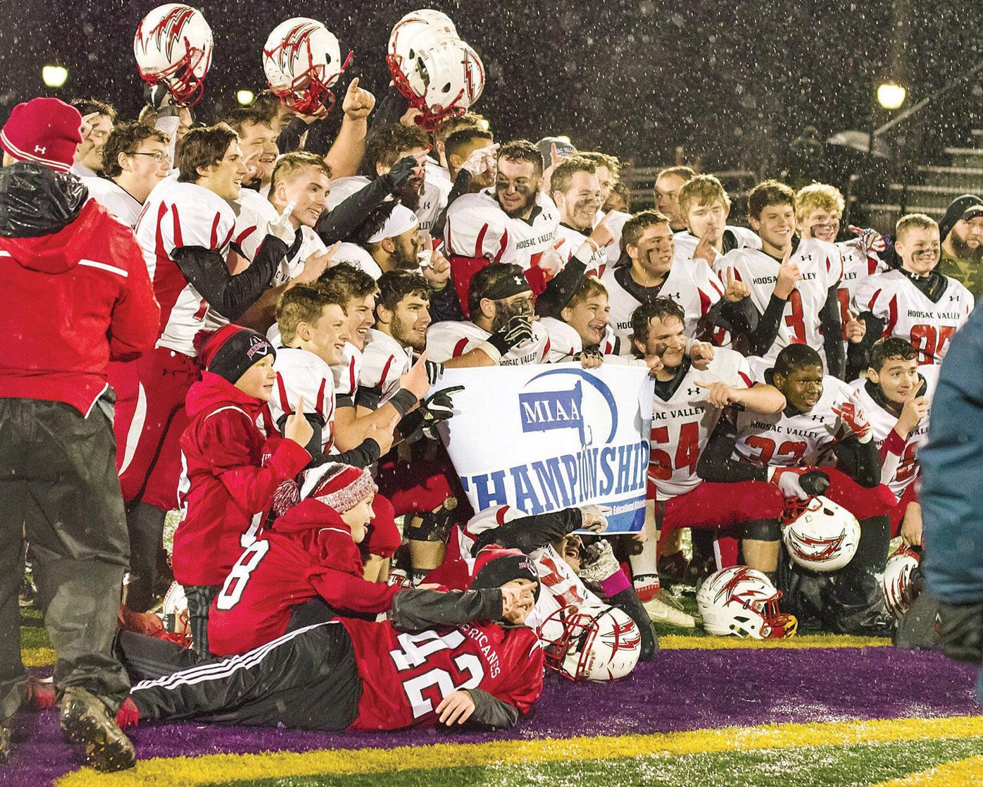 Hoosac Valley football holds off Lee in overtime to repeat as Western Mass. D-VIII champs