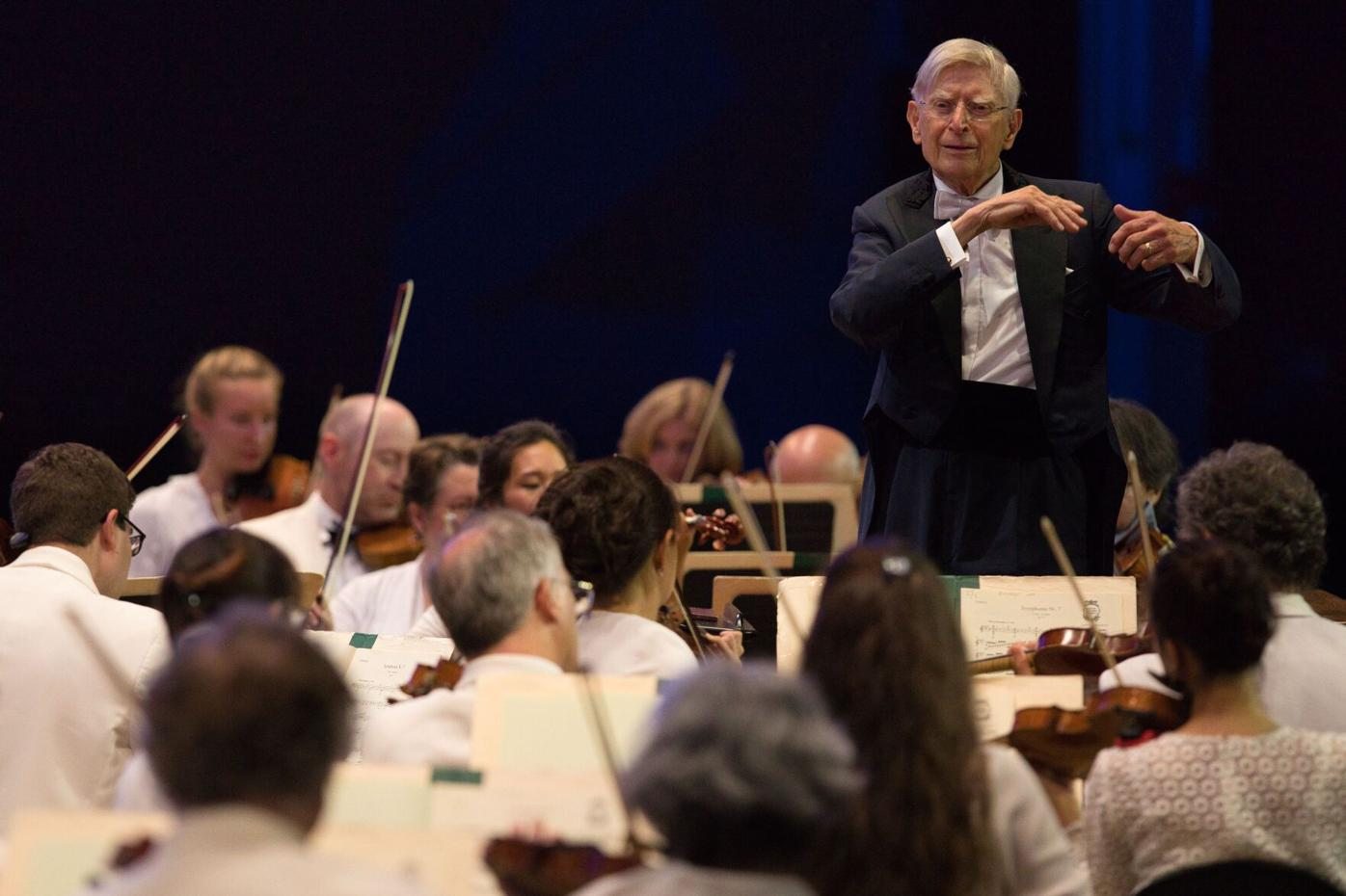 Herbert Blomstedt leads the BSO (