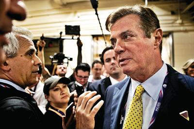 Former Trump aide Paul Manafort, associate, indicted on conspiracy, other charges