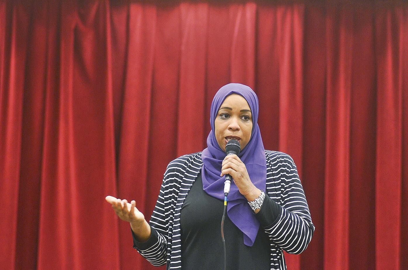 Congressional hopeful Amatul-Wadud says 'status quo is failing people'