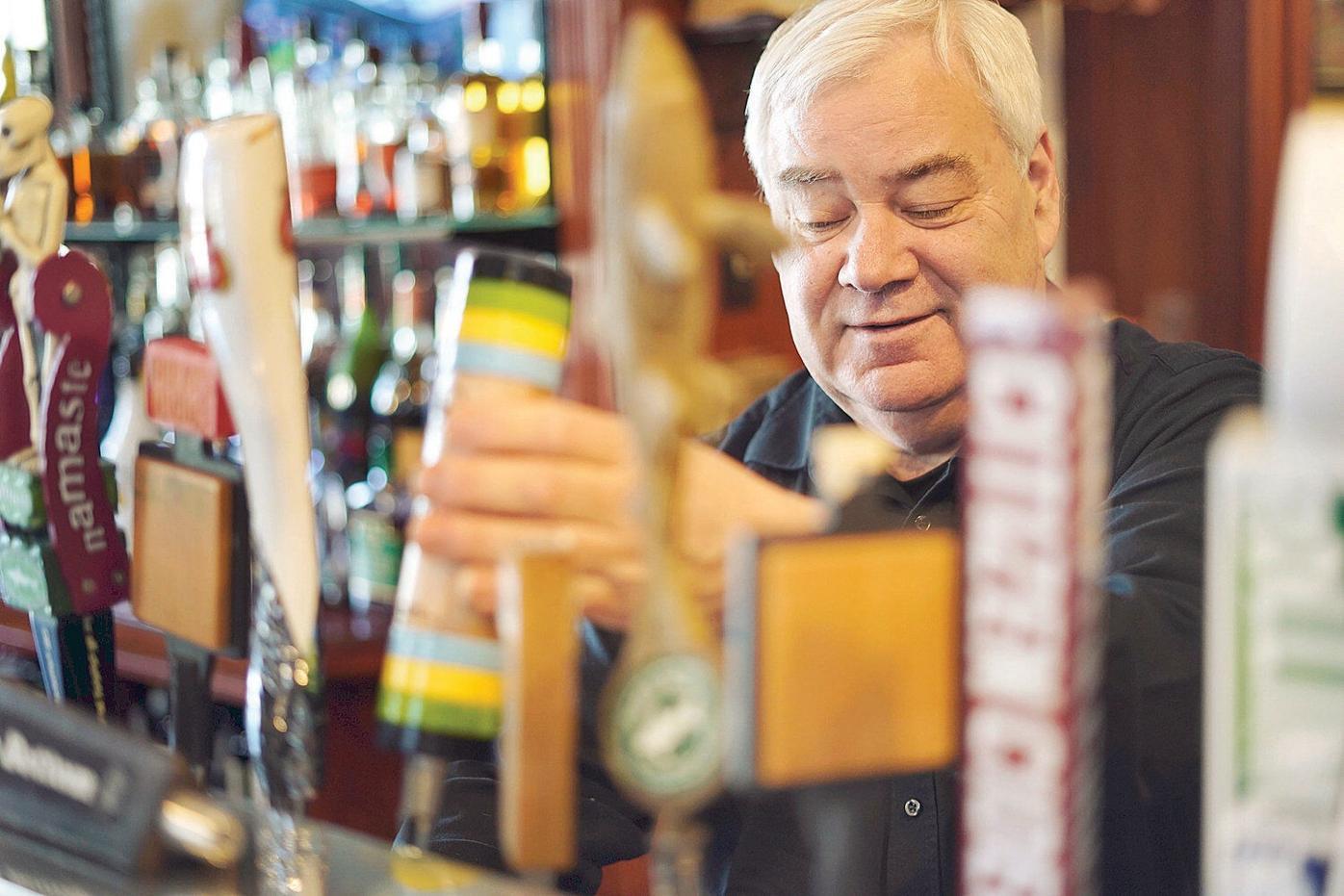 For Rainbow Restaurant bartender Paul Ruscio, it's all a matter of preparation