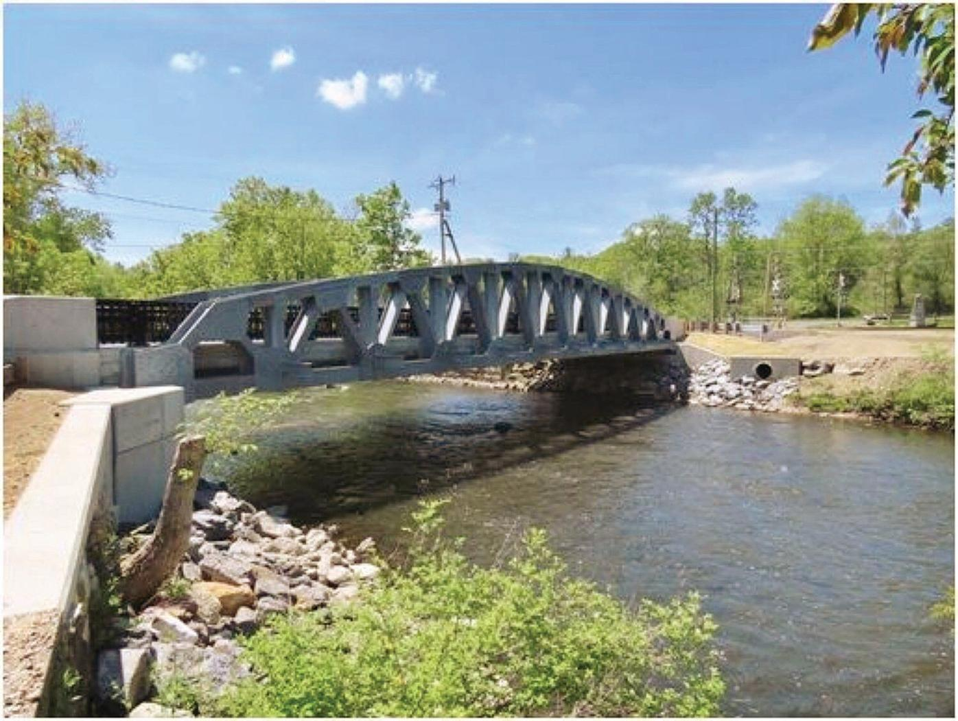 New bridge over Housatonic River provides vital connection to Lee businesses