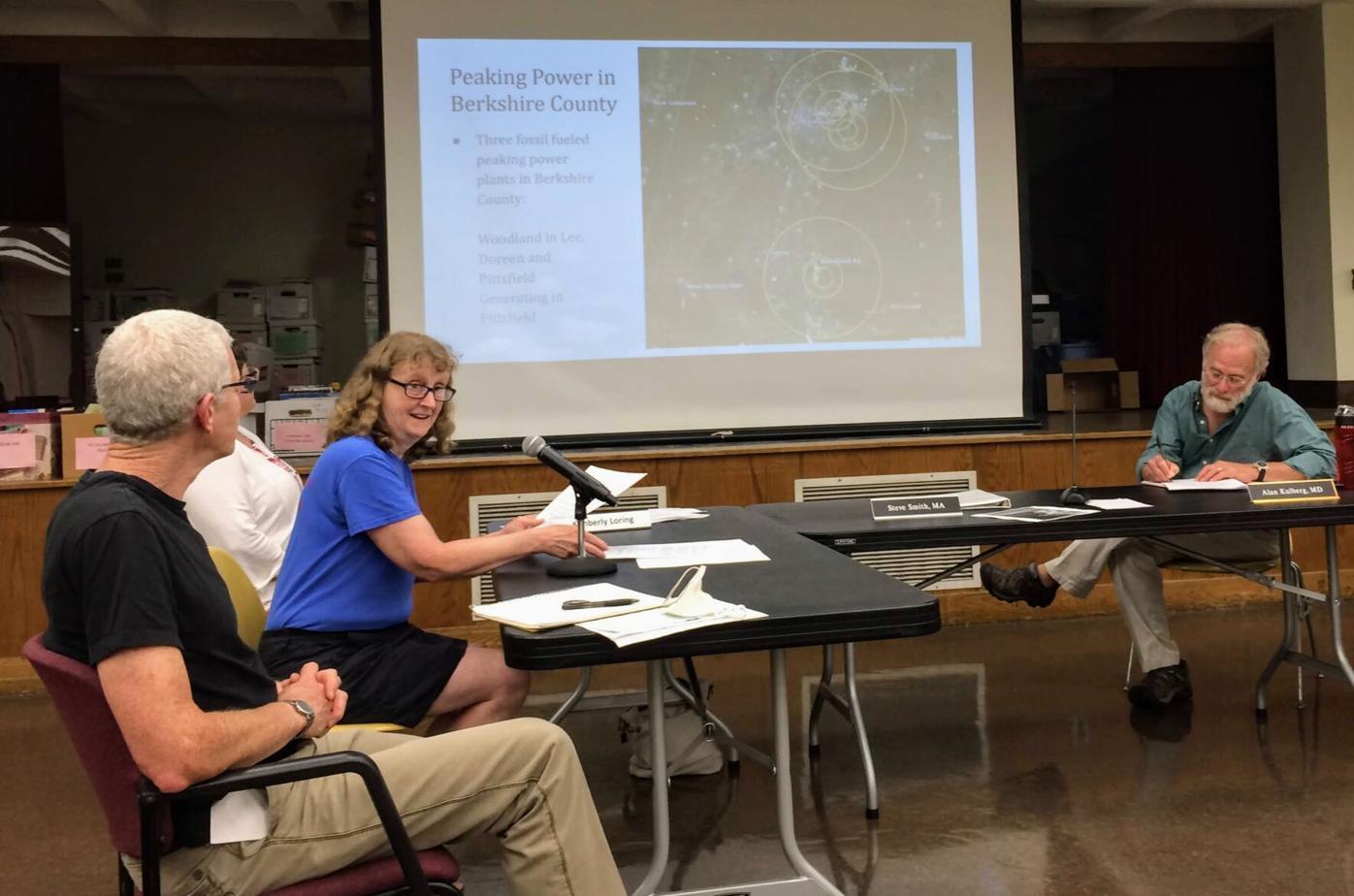 Jane Winn at Pittsfield Board of Health