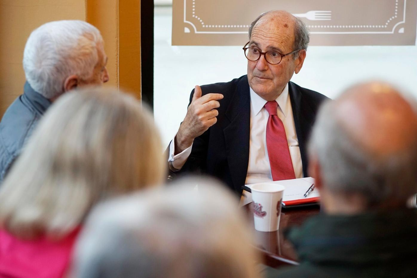 Questions and coffee with your newspaper's president