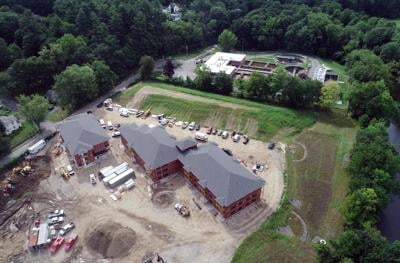 Aerial view of Great Barrington Water Treatment Plant (copy)