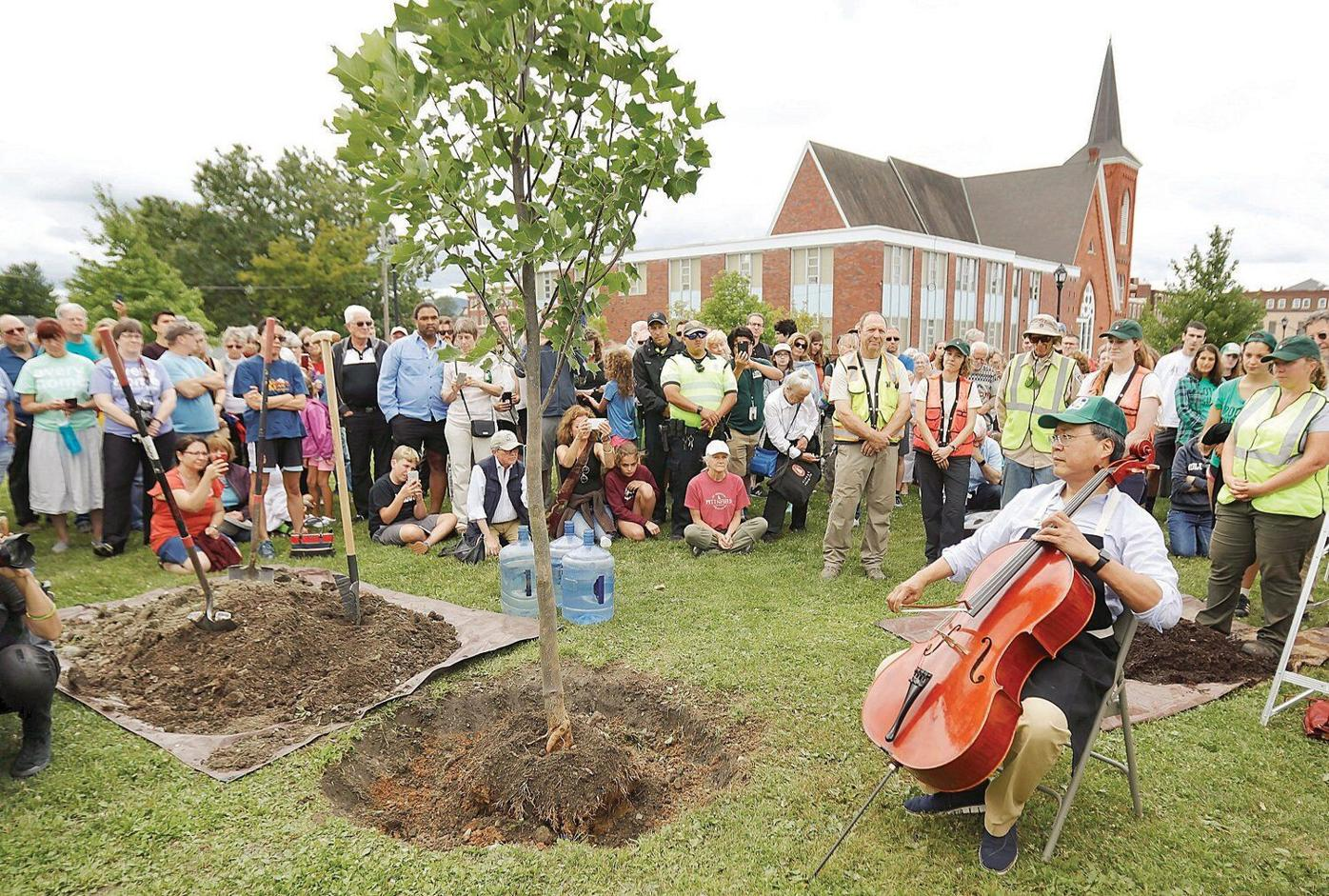 At Pittsfield's 'Day of Action,' Yo-Yo Ma brings a sense of community to the table