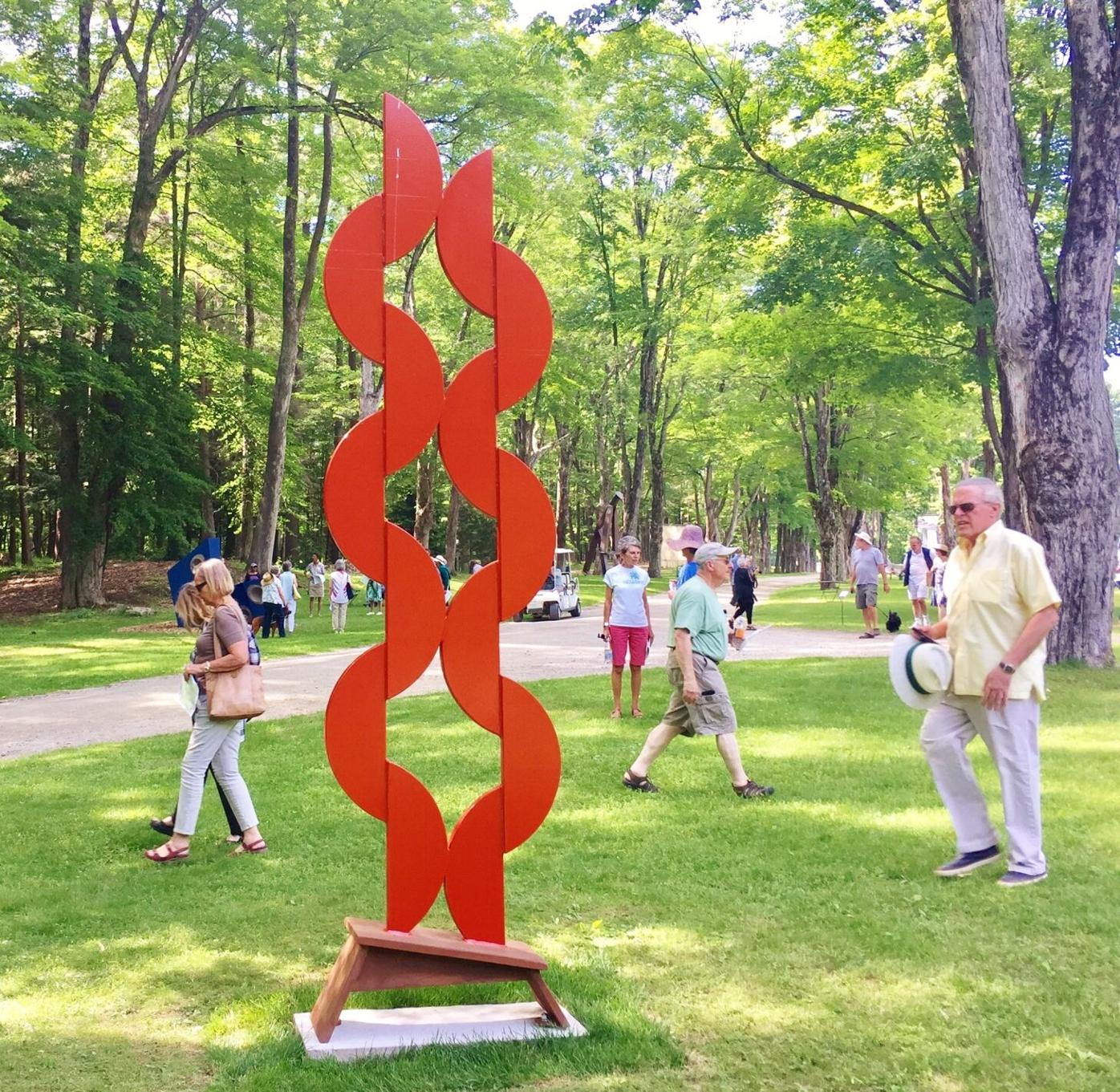 The Scene | SculptureNow is 'Sculpture Wow' at The Mount