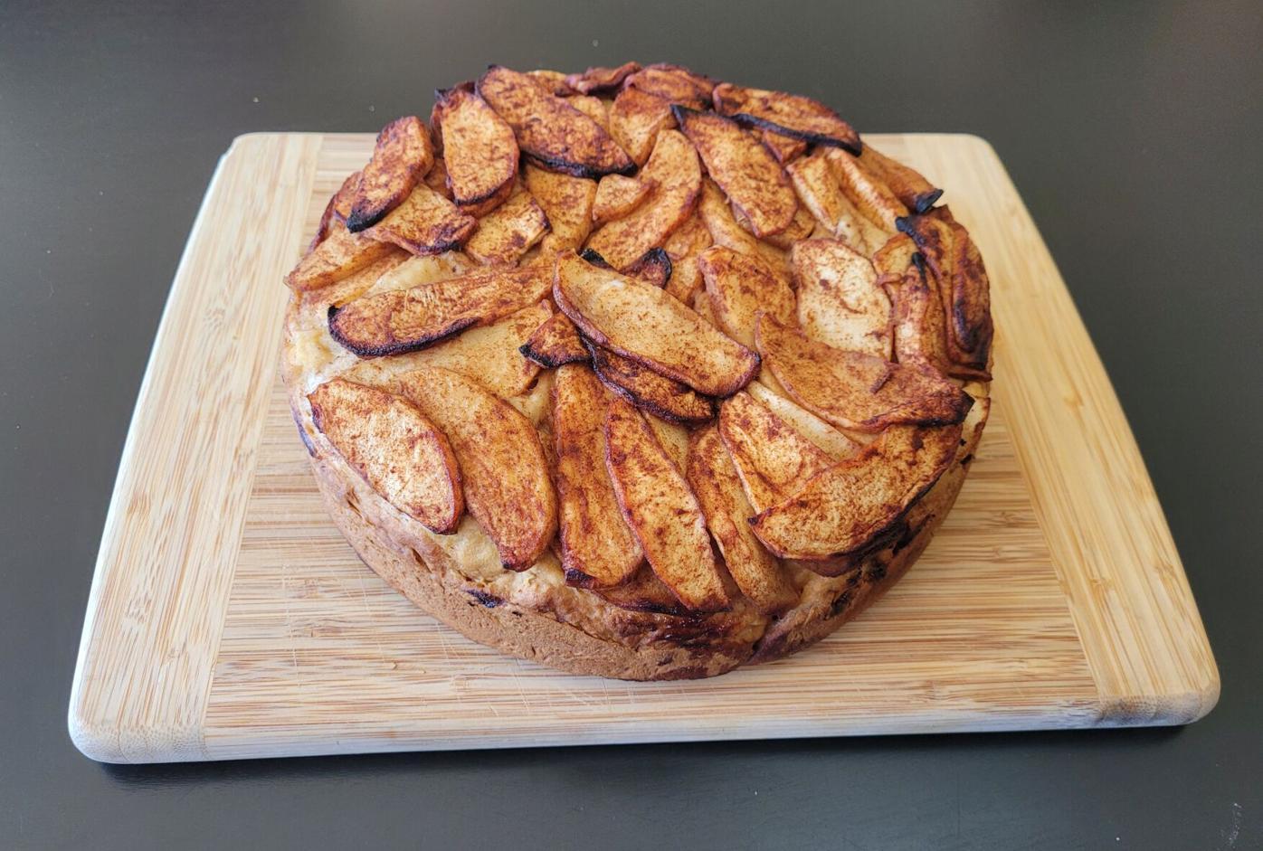 Apple treacle bread