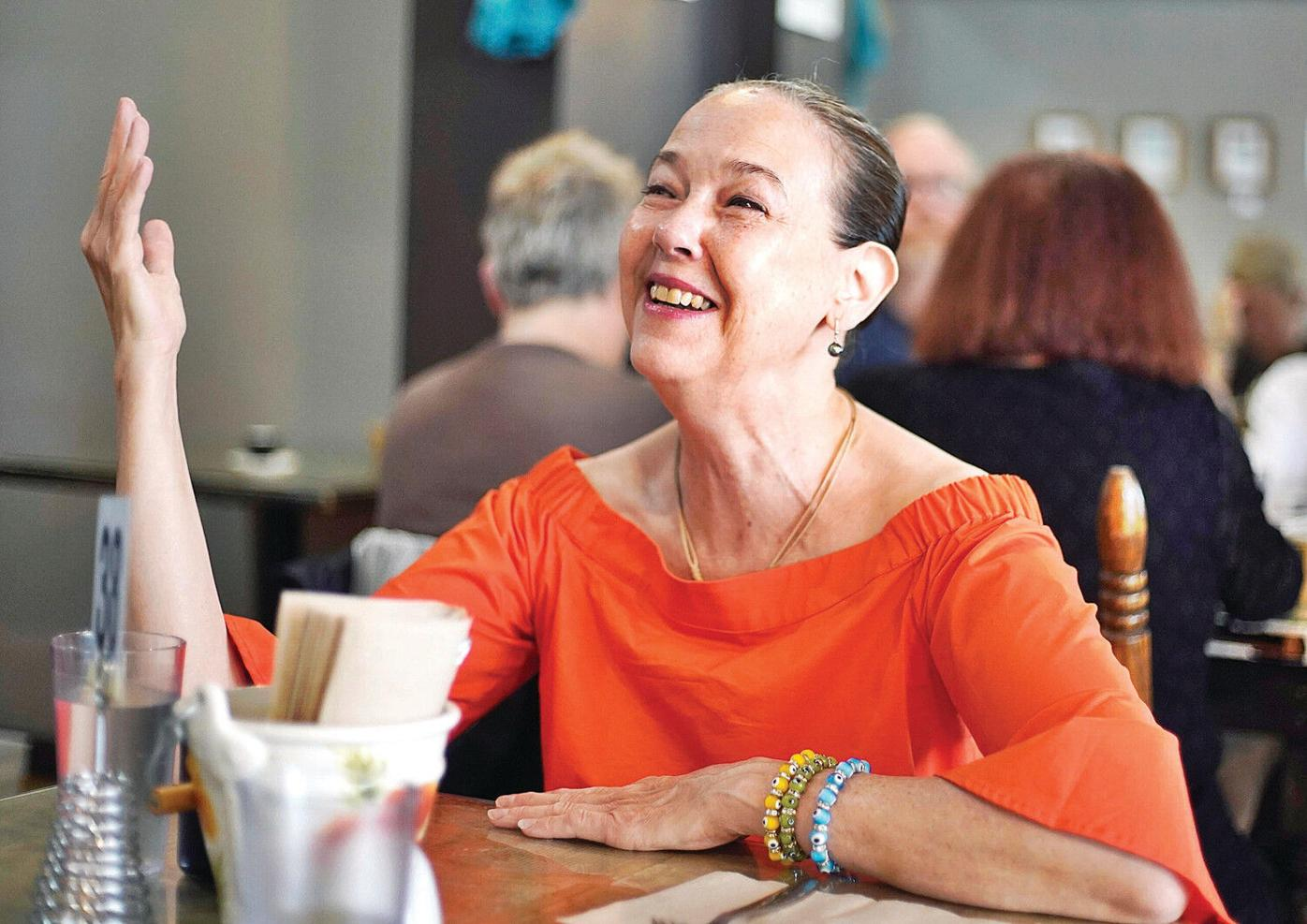Brunch with The Eagle: A late breakfast with Harriet Harris