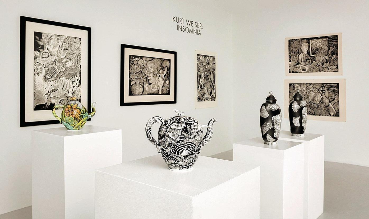 For Kurt Weiser, his art is anything but black and white