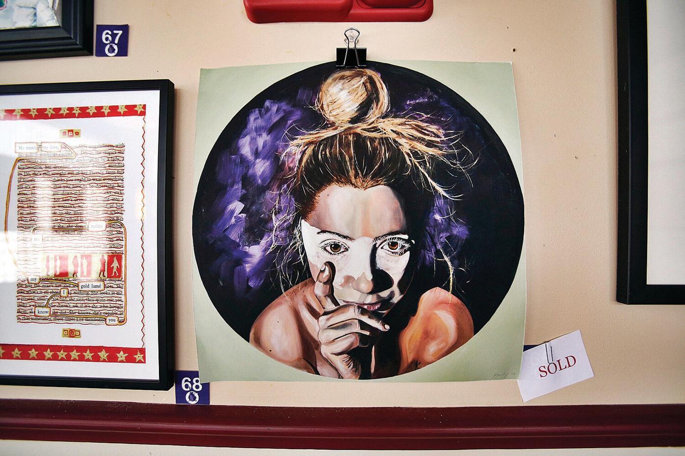#PressforProgress art exhibit: A peaceful, yet powerful, art movement