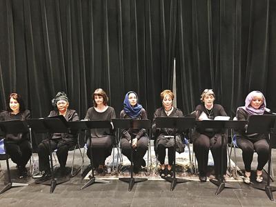 """Willpower triumphs over despair in """"Seven, A Documentary Play"""" at Bard College of Simon's Rock"""