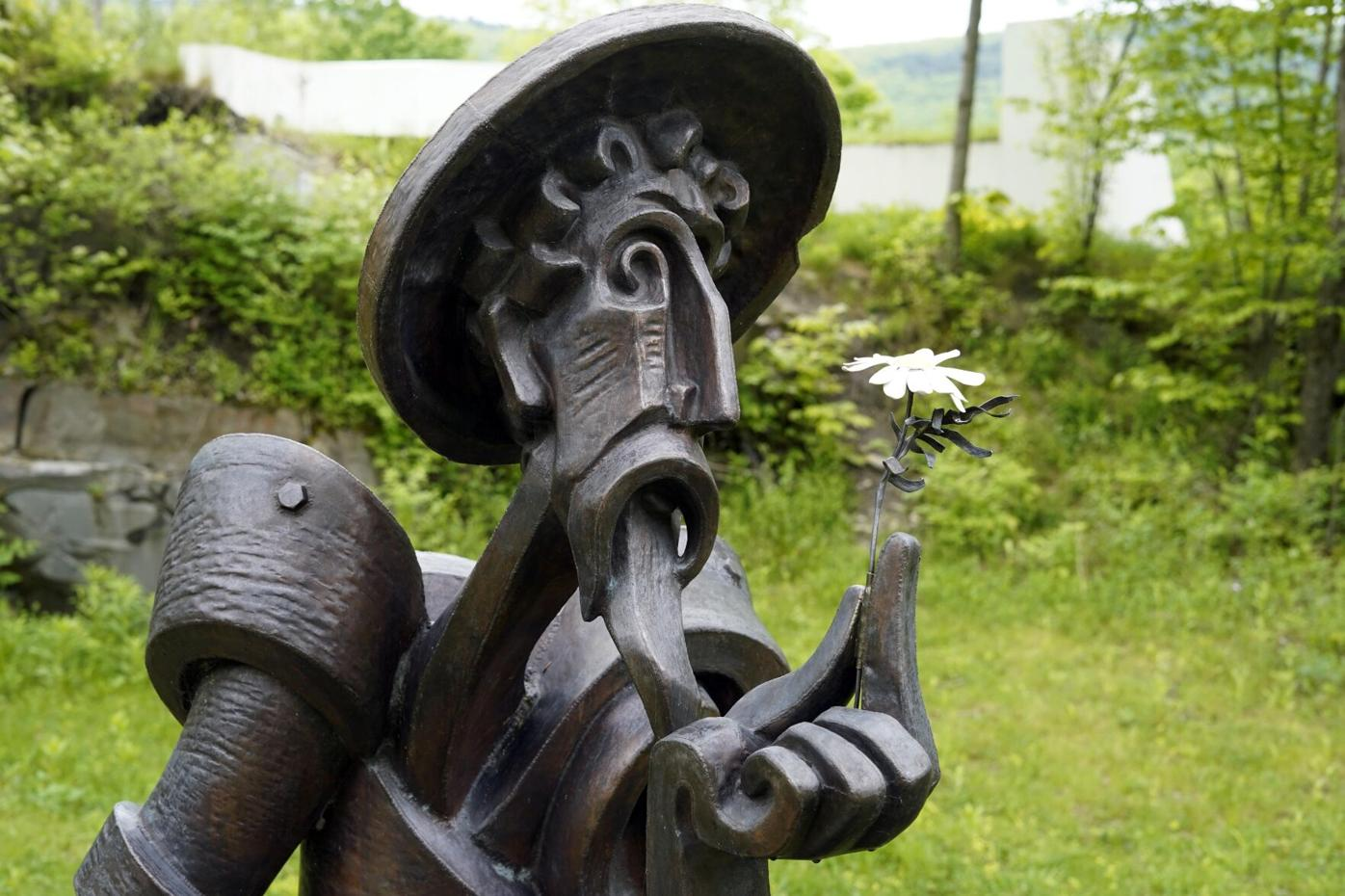 Don Quixote With a Flower