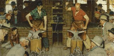 Berkshire Museum lists 13 works, including 2nd Rockwell, for May auction