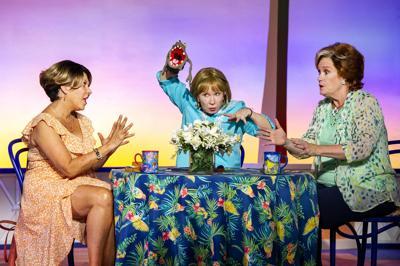 April Ortiz, Debra Jo Rupp and Peggy Pharr Wilson