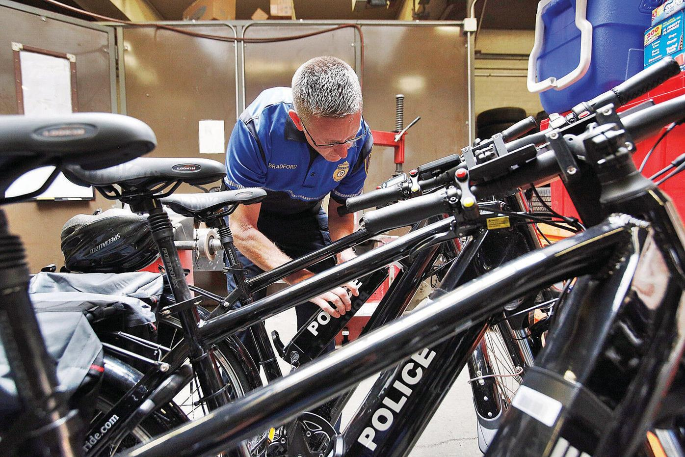 Pittsfield Police Department rolls out electric mountain bikes