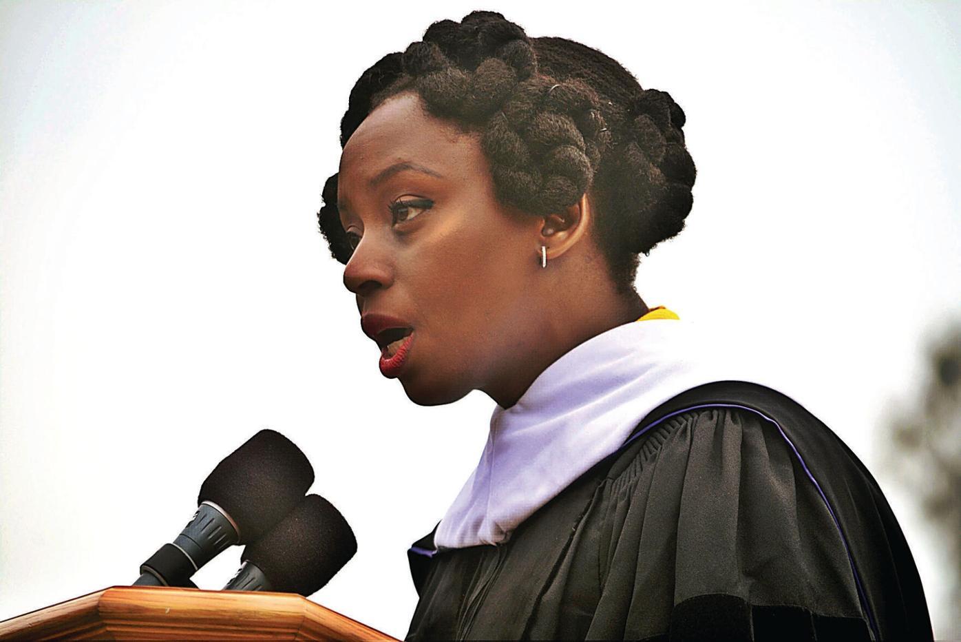 Nigerian author Adichie urges Williams grads to commit to social justice