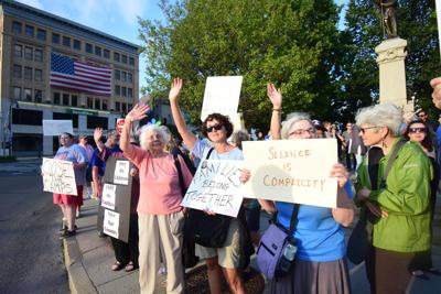 Photos: Lights for Liberty Vigil in Pittsfield