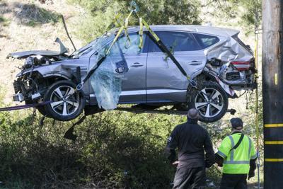 Tiger Woods Crash