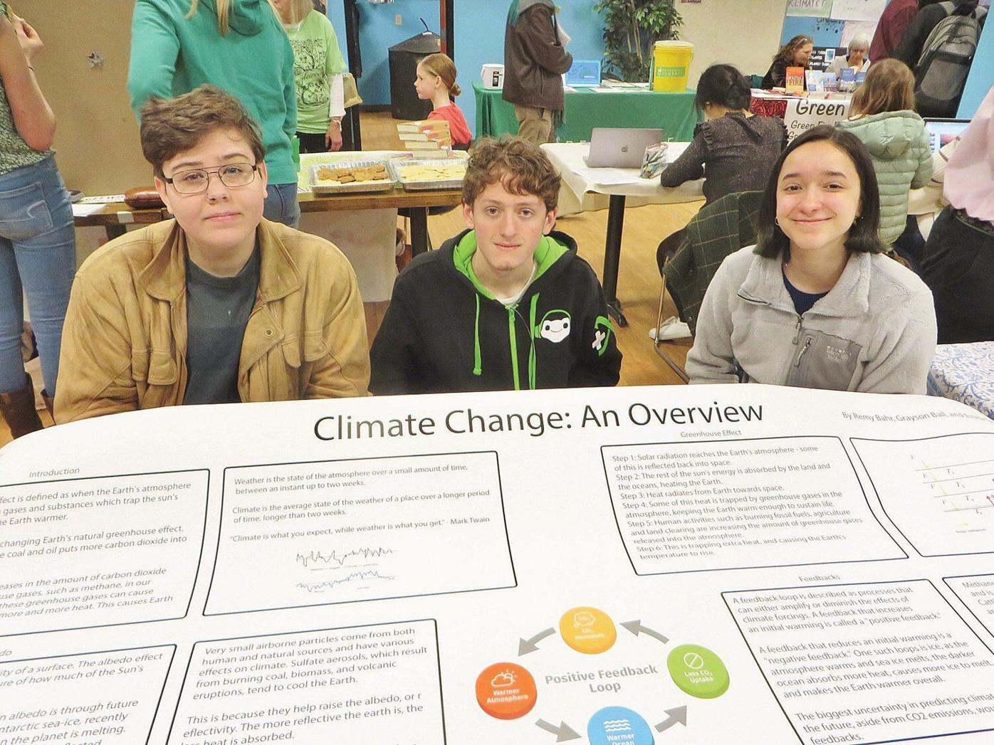 Students share worldly wisdom at Berkshire Earth Expo