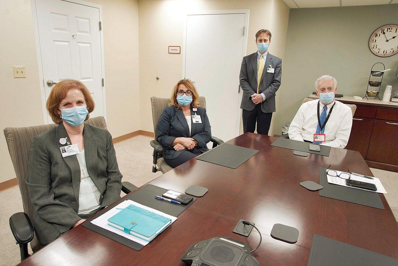 BHS executives at table