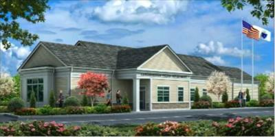 Exterior of proposed new police station in Lanesborough