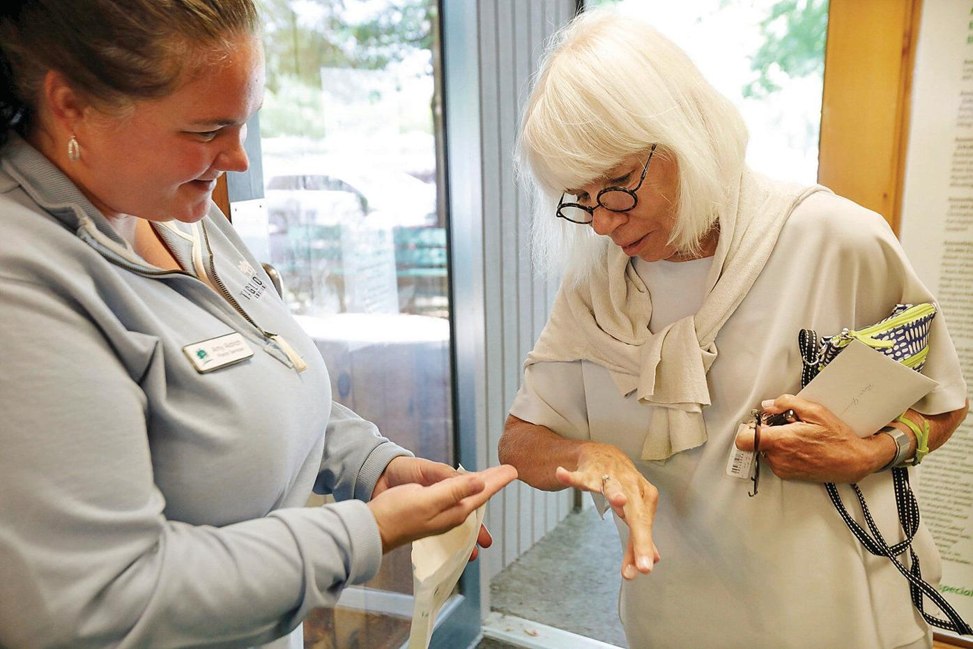 Tanglewood patron loses diamond; ending to tale has a nice ring to it