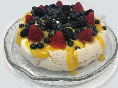 Pillowy pavlova perfect for Mother's Day