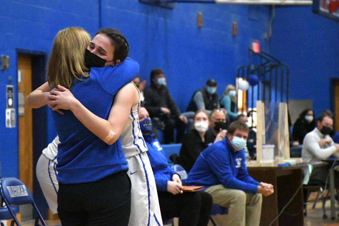 Last Girls Basketball game played at Wahconah Regional High School