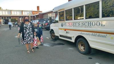 St. Mary's School in Lee opens for in-person learning