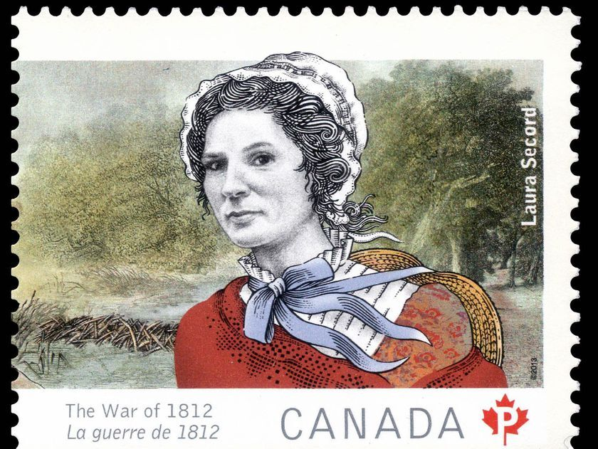 Laura Secord Stamp 1