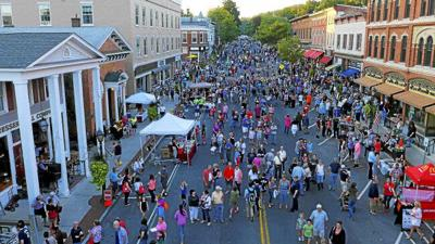 Drone gives aerial perspective of 'Lee, Gateway to the Berkshires'