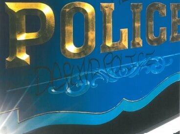 GB police graffiti