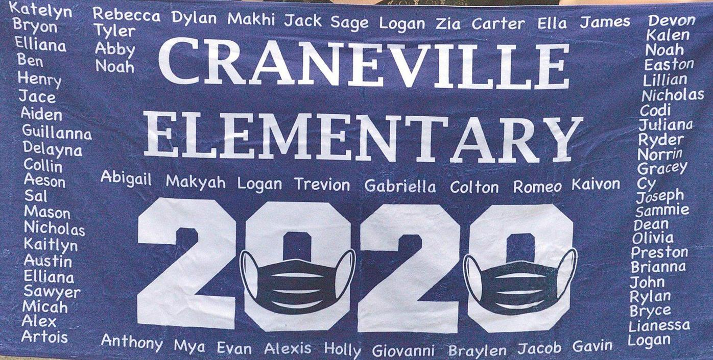 Weather doesn't put damper on Craneville Elementary graduation event