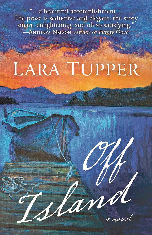 Open book with Lara Tupper